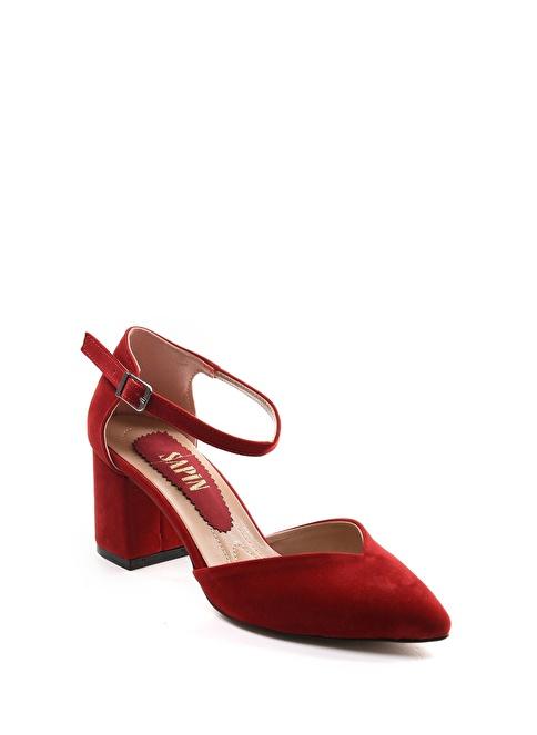 Sapin 26014 Kırmızı Topuklu Ayakkabı